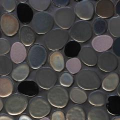 Glazed Ceramic Mosaics New York Bubbles