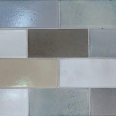 Glazed Lava Mosaics Sri Lanka Wide Large