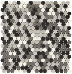 Boxer Hexagon Grey Mix Matt