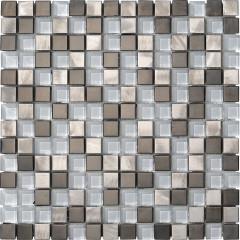 Boxer Metalglass Quadri Silver