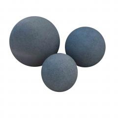 Set Bollen Black Granite Gebouchardeerd