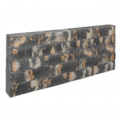 Stapelblok Beton Splitted Rock Grey Caramel