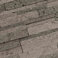 Stone Panels Grey-Black Lava