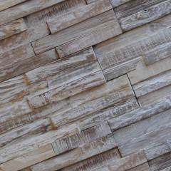WoodWall Strip White Wash