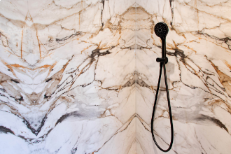 Project | Badkamer Neolith Calacatta luxe